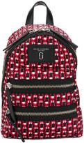 Marc Jacobs printed logo scream backpack