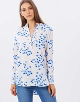 Warehouse Sweet William Print Top