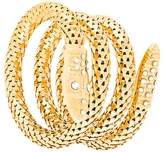 Giuseppe Zanotti Design serpent wrap bracelet