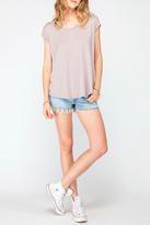 Gentle Fawn Relaxed Rose Stripe Top