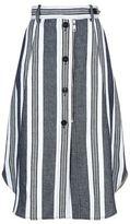 Sportmax Abituro Button Front Denim Skirt