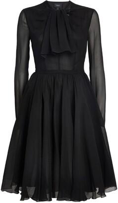 Giambattista Valli Silk Mini Dress
