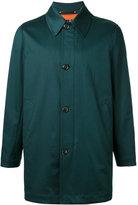 Paul Smith single-breasted coat - men - Cotton/Nylon/Polyester/Cupro - M