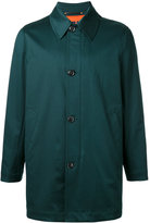 Paul Smith single-breasted coat - men - Cotton/Nylon/Polyester/Cupro - XS