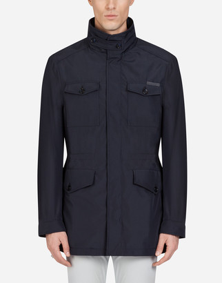 Dolce & Gabbana Jacket In Combined Nylon