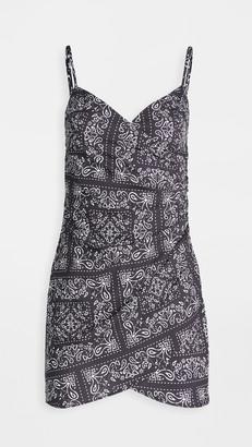 re:named apparel Bandana Mini Dress