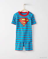 Hanna Andersson JUSTICE LEAGUETM SUPERMANTM Short John Pajamas In Organic Cotton