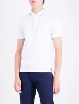 Armani Jeans Contrast-trim cotton polo shirt