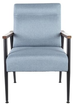 Gunderson Armchair George Oliver Upholstery Color: Blue