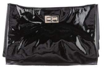 Chanel Pleated Convertible Clutch