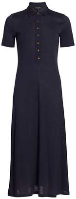 Rag & Bone Rower Polo Midi Dress