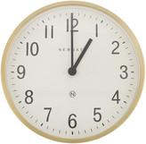 Newgate Clocks - Master Edwards Wall Clock - Radial Brass