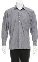 Burberry Glen Plaid Button-Up Shirt