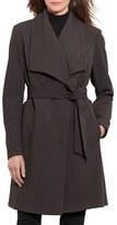 Lauren Ralph Lauren Women's Belted Drape Front Coat
