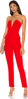superdown Pepper Strapless Jumpsuit
