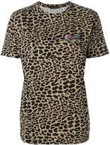 Etro embroidered animal print T-shirt