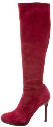 Stuart Weitzman Knee-High Suede Boots