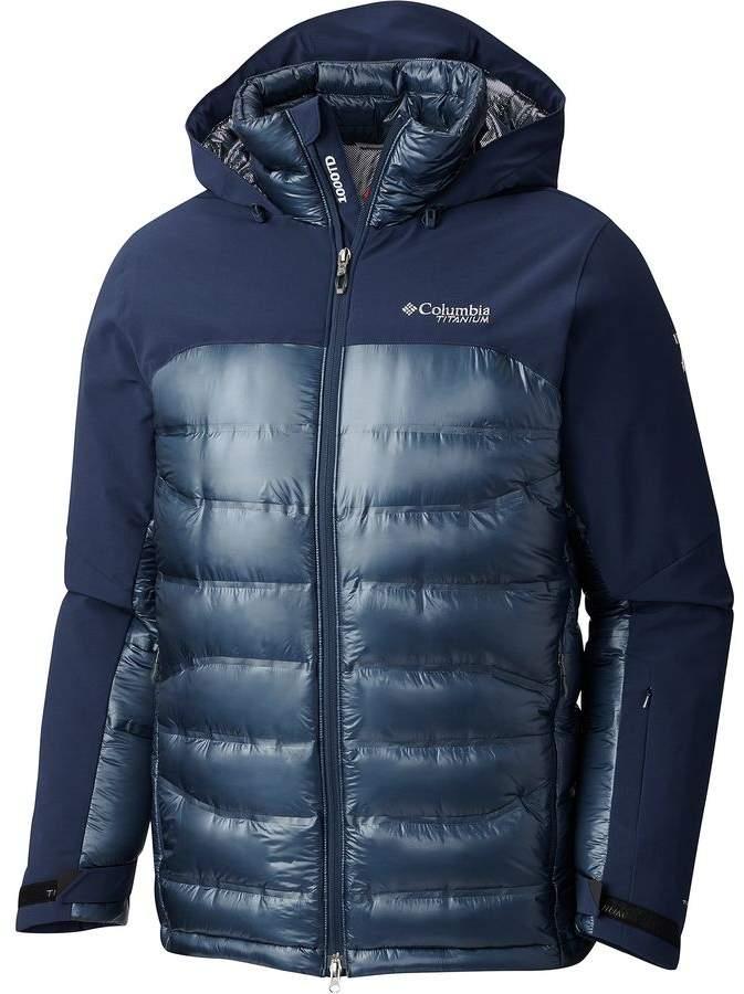 Columbia Titanium Heatzone 1000 Turbodown Hooded Jacket - Men's
