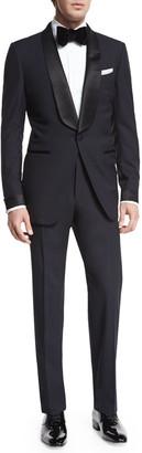 Tom Ford O'Connor Base Shawl-Collar Tuxedo, Navy