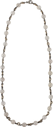 Sylva & Cie Rutilated Quartz Necklace