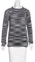 The Elder Statesman Cashmere Mock Neck Sweater