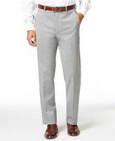 Alfani Men's Traveler Light Grey Solid Slim-Fit Pants, Only at Macy's