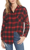 Rails Women's Owen Studded Plaid Shirt