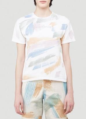 Collina Strada Paint Print T-Shirt