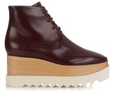 Stella McCartney Elyse lace-up platform boots