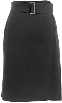 CNC Costume National Black Wool Skirts