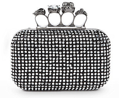 Kate Landry Stud Front Box Clutch
