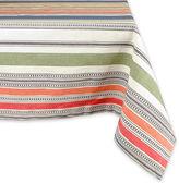 Avanti Warm Stripe Tablecloth