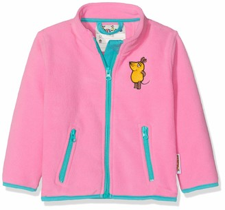 Playshoes DIE MAUS Baby Girls' Fleece-Jacke DIE MAUS Jacket