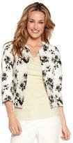 M&Co Floral jacquard cropped jacket