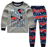 "CNBABY ""Rugby"" Little Boys' 2 Piece Cotton Pajama Sets (4 Toddler)"