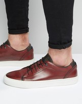 Ted Baker Kiing Leather Sneakers