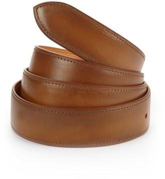 Old Wood Patina Leather Belt