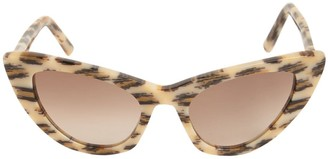 Saint Laurent Sl 213 Lily Cat-Eye Acetate Sunglasses