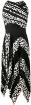 Proenza Schouler pleated leopard print cutout dress - women - Silk/Polyester/Acetate/Viscose - 6