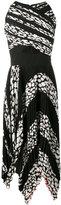 Proenza Schouler pleated leopard print cutout dress - women - Silk/Polyester/Acetate/Viscose - 6