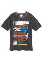 Hatley Boy's Sharpest Tool In The Shed T-Shirt