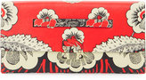 Valentino Floral-Embossed Clutch Bag, Nero Ross