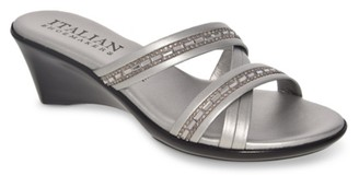 Italian Shoemakers Passion Wedge Sandal