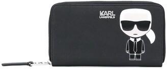 Karl Lagerfeld Paris K/Ikonik zipped wallet