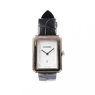 Chanel Boy-Friend Black Pink gold Watches