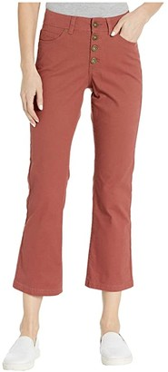 Toad&Co Earthworks Kick Flare Pants (Salt) Women's Casual Pants