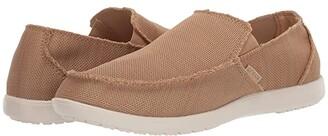 Crocs Santa Cruz Downtime Slip-On (Tan/Tan) Men's Shoes