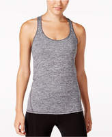 Ideology Rapidry Heathered Racerback Performance Tank Top, Only at Macy's