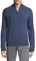 Saks Fifth Avenue Stand Collar Cashmere Sweater