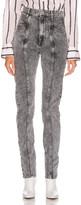 Etoile Isabel Marant Hominy Denim Pant in Grey | FWRD